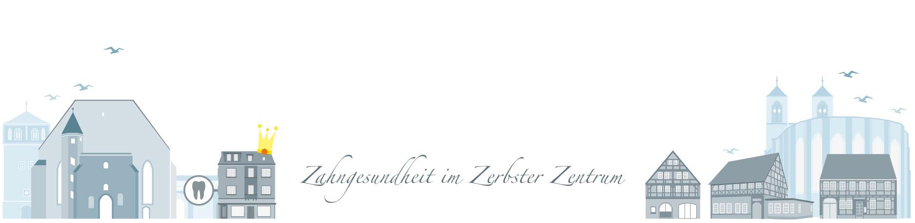 Titelbild der Seite Impressum - Zahnarztpraxis im Zerbster Zentrum - Zahnarzt Dr. med. Bernd Lux