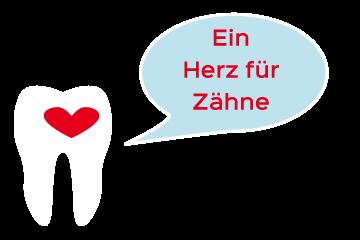 Ein Herz für Zähne