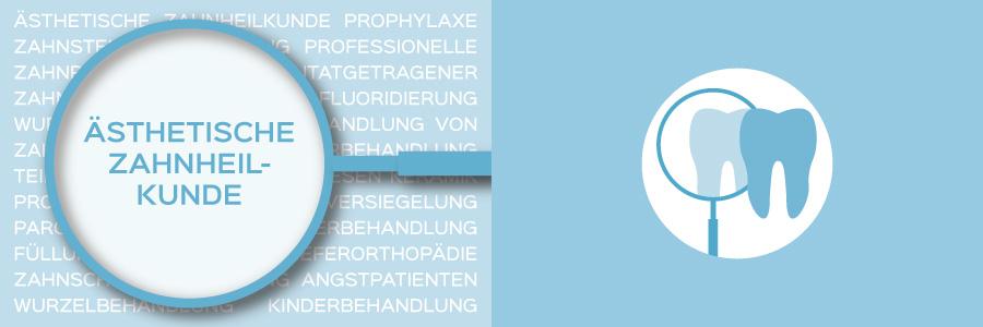 Überblicksbild des Themas Ästhetische Zahnheilkunde - Zahnarztpraxis im Zerbster Zentrum - Zahnarzt Dr. med. Bernd Lux