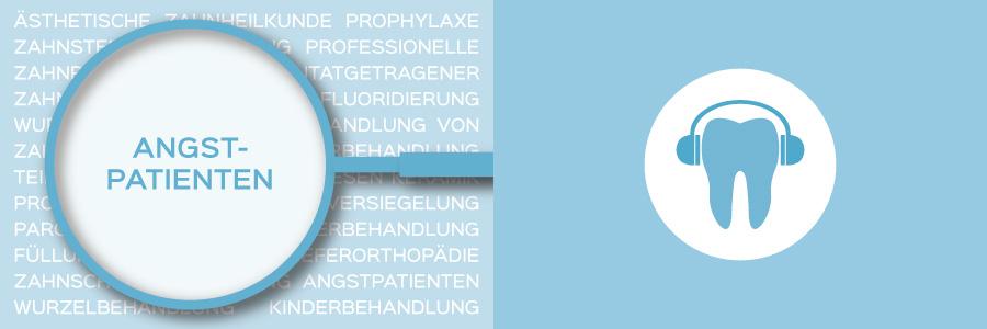 Überblicksbild des Themas Behandlung von Angstpatienten - Zahnarztpraxis im Zerbster Zentrum - Zahnarzt Dr. med. Bernd Lux