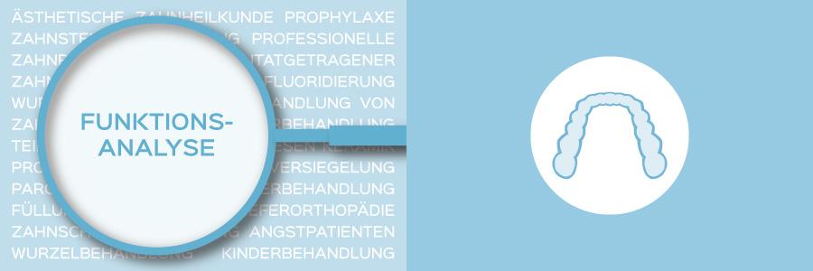 Überblicksbild des Themas Funktionsanalyse und Behandlung von Kiefergelenksproblemen (CMD) - Zahnarztpraxis im Zerbster Zentrum - Zahnarzt Dr. med. Bernd Lux