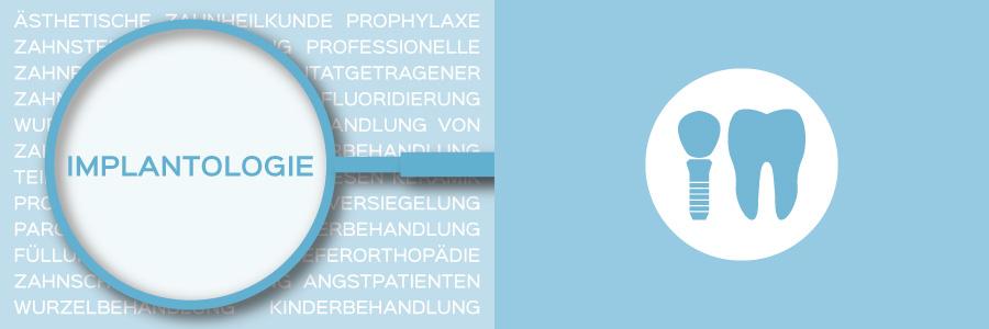 Überblicksbild des Themas Implantologie - Zahnarztpraxis im Zerbster Zentrum - Zahnarzt Dr. med. Bernd Lux