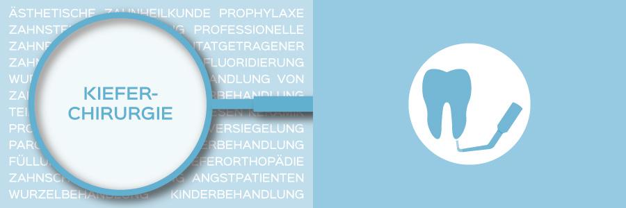 Überblicksbild des Themas Kieferchirurgie - Zahnarztpraxis im Zerbster Zentrum - Zahnarzt Dr. med. Bernd Lux