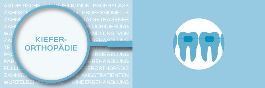 Überblicksbild des Themas Kieferorthopädie - Zahnarztpraxis im Zerbster Zentrum - Zahnarzt Dr. med. Bernd Lux