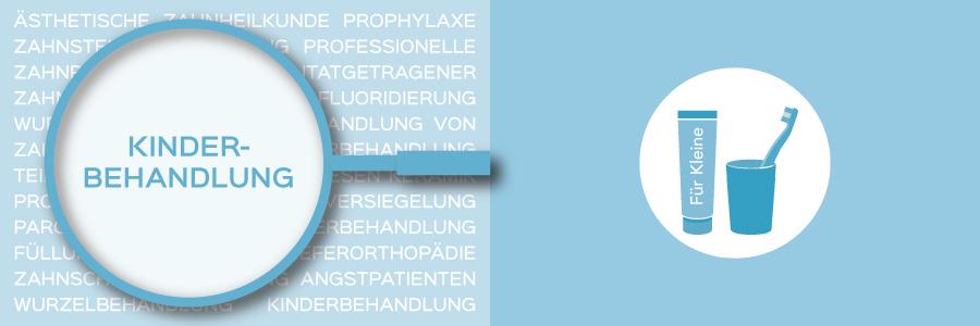 Überblicksbild des Themas Kinderbehandlung - Zahnarztpraxis im Zerbster Zentrum - Zahnarzt Dr. med. Bernd Lux