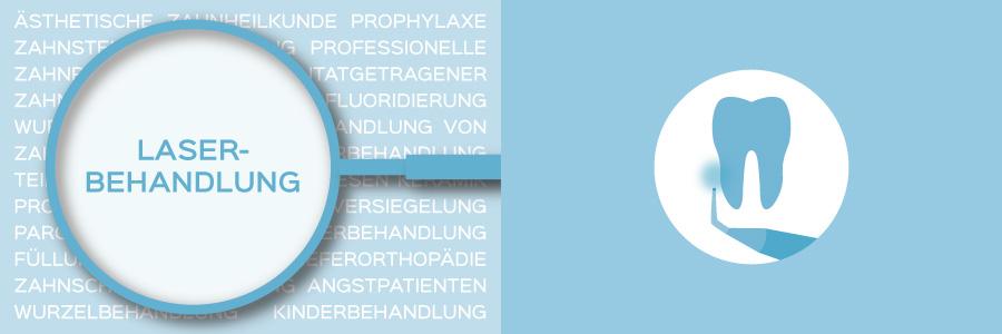 Überblicksbild des Themas Laserbehandlung - Zahnarztpraxis im Zerbster Zentrum - Zahnarzt Dr. med. Bernd Lux