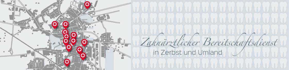 Titelbild der Seite Bereitschaftsdienst - Zahnarztpraxis im Zerbster Zentrum - Zahnarzt Dr. med. Bernd Lux