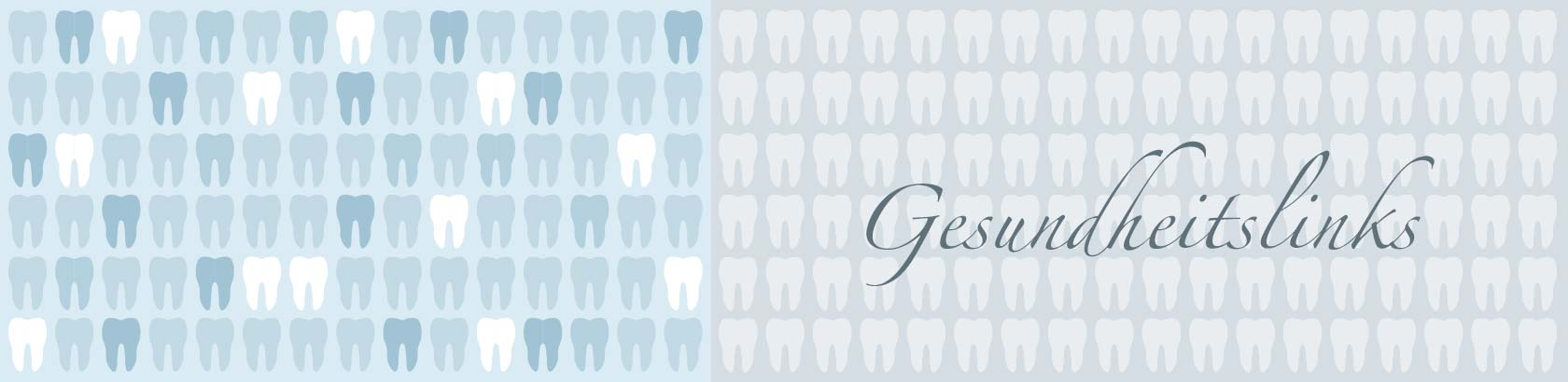 Titelbild der Seite Gesundheitslinks - Zahnarztpraxis im Zerbster Zentrum - Zahnarzt Dr. Bernd med. Lux