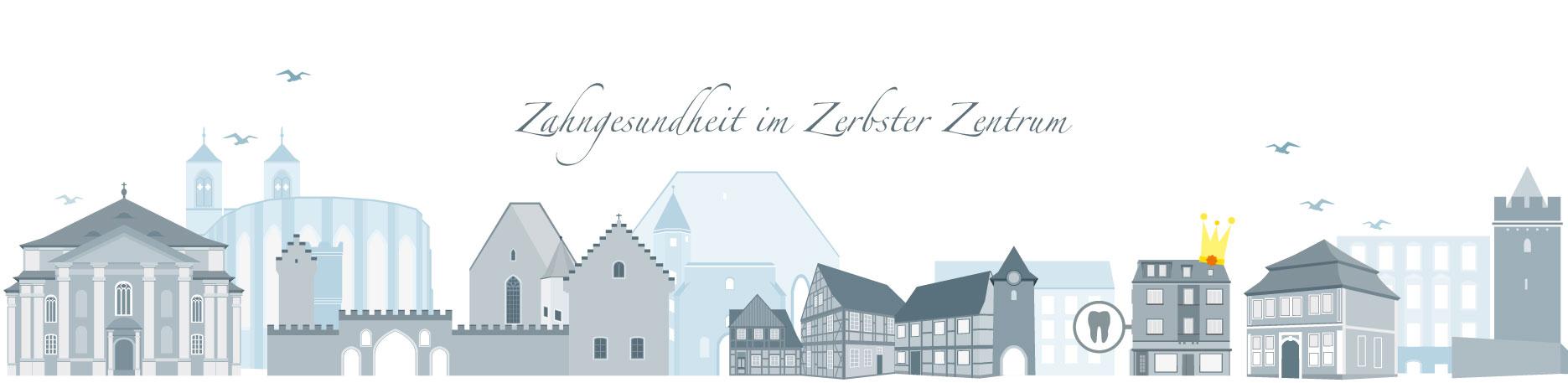 Titelbild der Seite Kontakt - Zahnarztpraxis im Zerbster Zentrum - Zahnarzt Dr. med. Bernd Lux