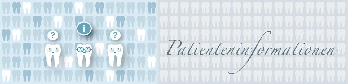 Titelbild der Seite Patienteninformationen - Zahnarztpraxis im Zerbster Zentrum - Zahnarzt Dr. med. Bernd Lux