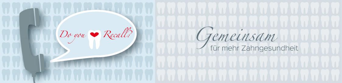 Titelbild der Seite Recall-Service - Zahnarztpraxis im Zerbster Zentrum - Zahnarzt Dr. med. Bernd Lux