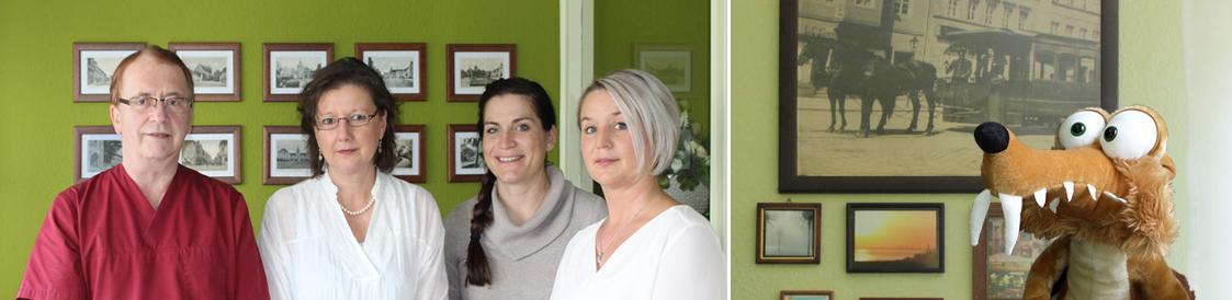 Titelbild der Seite Team - Zahnarztpraxis im Zerbster Zentrum - Zahnarzt Dr. med. Bernd Lux