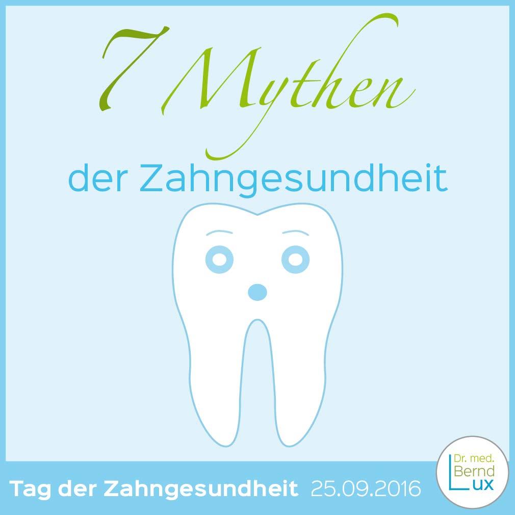 Titelbild Mythen der Zahngesundheit - Zahnarzt Zerbst - Dr. med. Bernd Lux