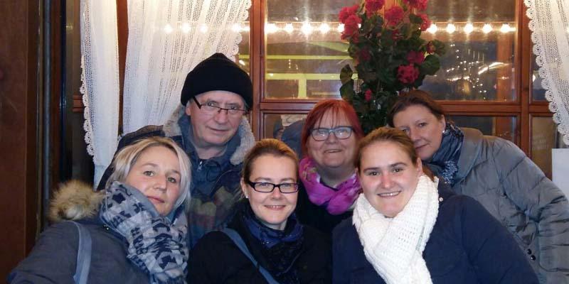 Weihnachtsausflug zum Weihnachtsmarkt in Halle.