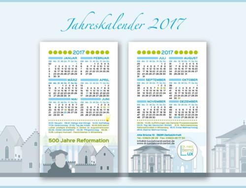 Jahreskalender 2017