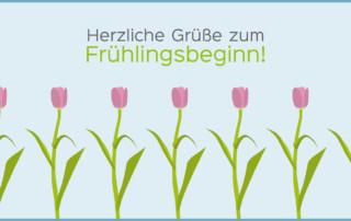 Gruß zum Frühlingsbeginn - Zahnarzt in Zerbst/Anhalt - Dr. Bernd Lux.
